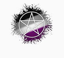 Pagan Pentacle Asexual Unisex T-Shirt