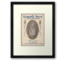 Artist Posters The Quiberon Touch by Cyrus Townsend Brady 0990 Framed Print