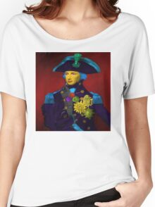 Horatio Nelson Pop Art Women's Relaxed Fit T-Shirt