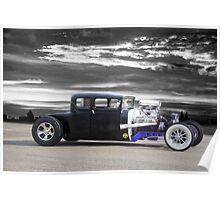 1928 Dodge 'Hot Rod' Coupe Poster
