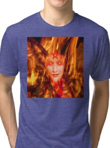 Fire Demon Tri-blend T-Shirt