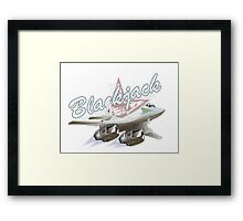 Cartoon Bomber Framed Print