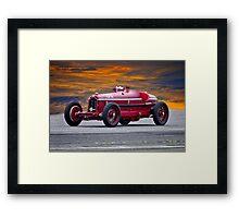 1932 Alfa Romeo Monza Racecar Framed Print