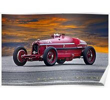 1932 Alfa Romeo Monza Racecar Poster