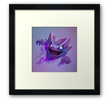 Haunter - Pokemon Framed Print
