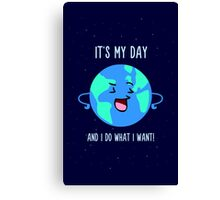 Earth Day Canvas Print