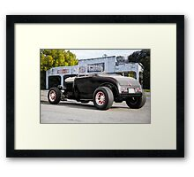 1932 Ford Roadster 3Q Rear View Framed Print