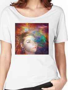 Space Explorer Women's Relaxed Fit T-Shirt