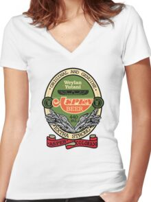 Aspen Extra Strong Women's Fitted V-Neck T-Shirt