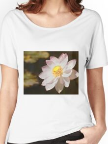 0236 Japanese Lotus Flower Women's Relaxed Fit T-Shirt