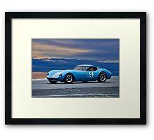 1964 Chevrolet Kellison Vintage GT Racecar Framed Print
