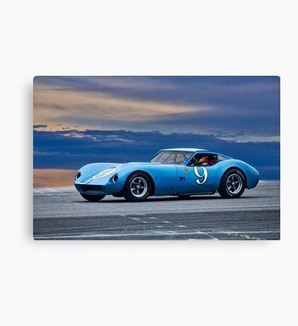 1964 Chevrolet Kellison Vintage GT Racecar Canvas Print