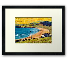 Long Strand, West Cork, Ireland Framed Print