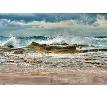 0076 Breaking Wave Photographic Print