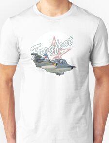 Cartoon Attack Warplane Unisex T-Shirt