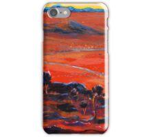 The Living Desert, Broken Hill,S.A. Sunset.  iPhone Case/Skin