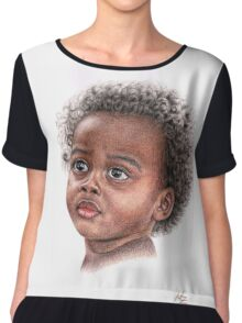 African Child Chiffon Top