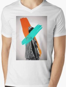 Paint Mens V-Neck T-Shirt