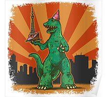 T Rex birthday in Tokyo Poster