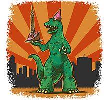T Rex birthday in Tokyo Photographic Print