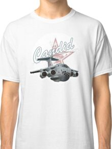 Cartoon Military Cargo Plane Classic T-Shirt