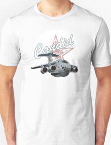 Cartoon Military Cargo Plane Unisex T-Shirt