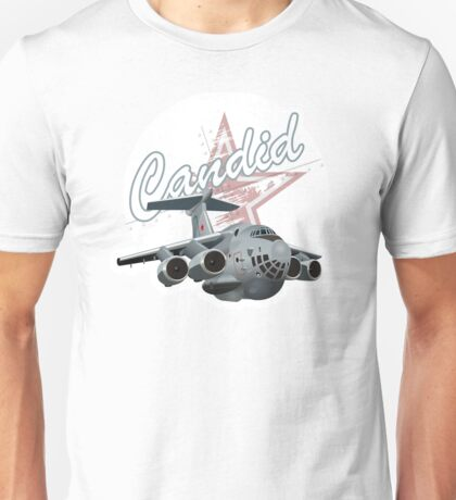 Cartoon Military Cargo Plane Unisex T-Shirt