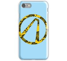 Corroded Vault Symbol iPhone Case/Skin