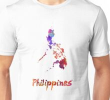 Philippines  in watercolor Unisex T-Shirt