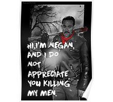 Negan Poster