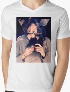 Kaleidoscope Eyes Mens V-Neck T-Shirt