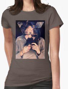 Kaleidoscope Eyes Womens Fitted T-Shirt