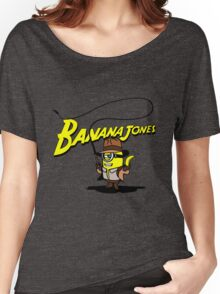 BANANA JONES AND THE GOLDEN BANANA Women's Relaxed Fit T-Shirt