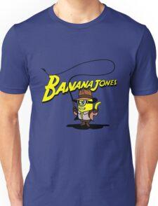 BANANA JONES AND THE GOLDEN BANANA Unisex T-Shirt