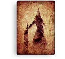 Silent Hill Pyramid Head Illustration Canvas Print