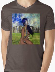 Pagan Meditation Mens V-Neck T-Shirt