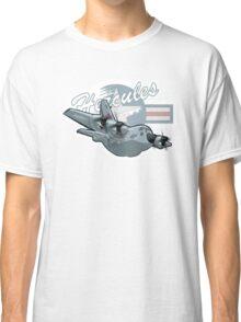 Cartoon Military Cargo Plane Classic T-Shirt