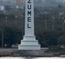 Cozumel Mexico - Welcome Sticker