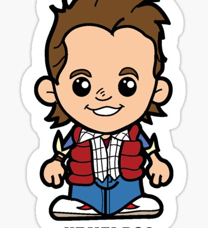 Lil Marty Sticker