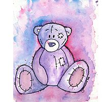Ted - E - Bear Photographic Print