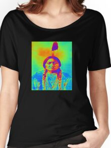 SITTING BULL Women's Relaxed Fit T-Shirt