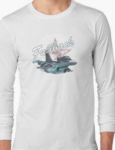 Cartoon Fighter Long Sleeve T-Shirt