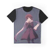 Nagisa Winter Coat - Clannad Graphic T-Shirt