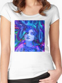Crystal Cave Women's Fitted Scoop T-Shirt