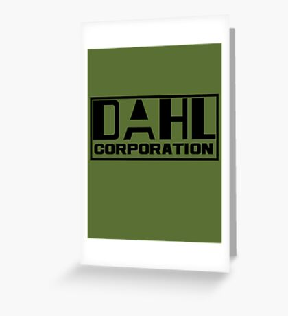 DAHL Corporation Greeting Card