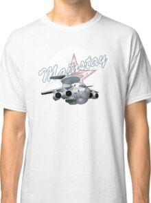 Cartoon AWACS Plane Classic T-Shirt
