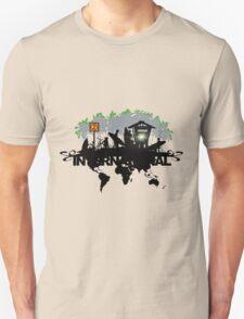 skateboarder Community Illustration Unisex T-Shirt