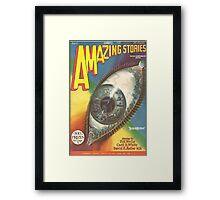 Amazing Stories Framed Print