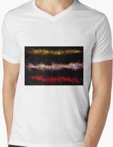Hippie explosion Mens V-Neck T-Shirt