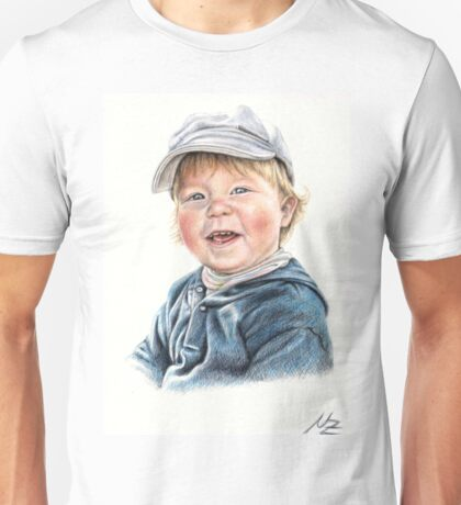 Little Boy Portrait Unisex T-Shirt